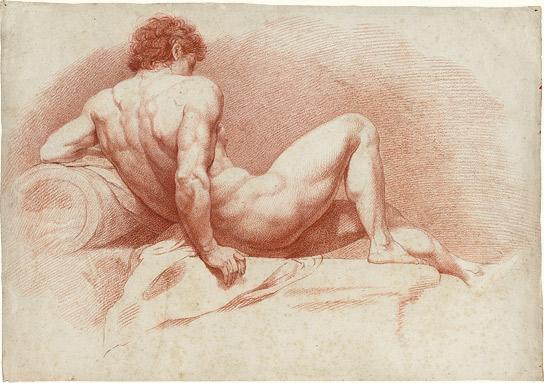 Barrymore zeichnete freien Akt
