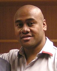 Jonah Lomu New Zealand rugby union player