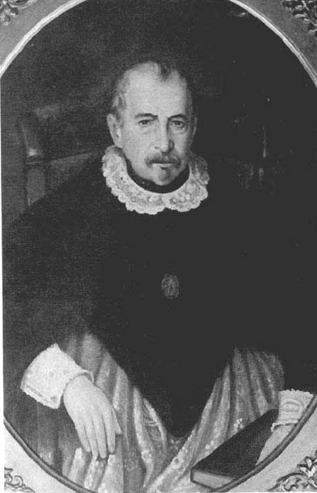 Depiction of Juan Francisco Meneses
