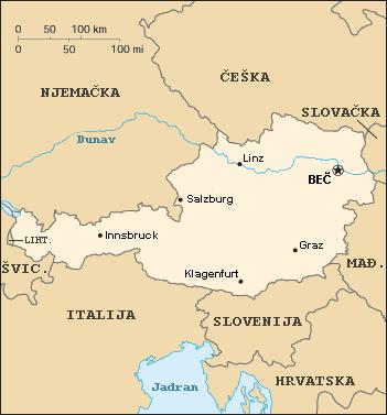 austrija karta File:Karta Austrije.png   Wikimedia Commons austrija karta