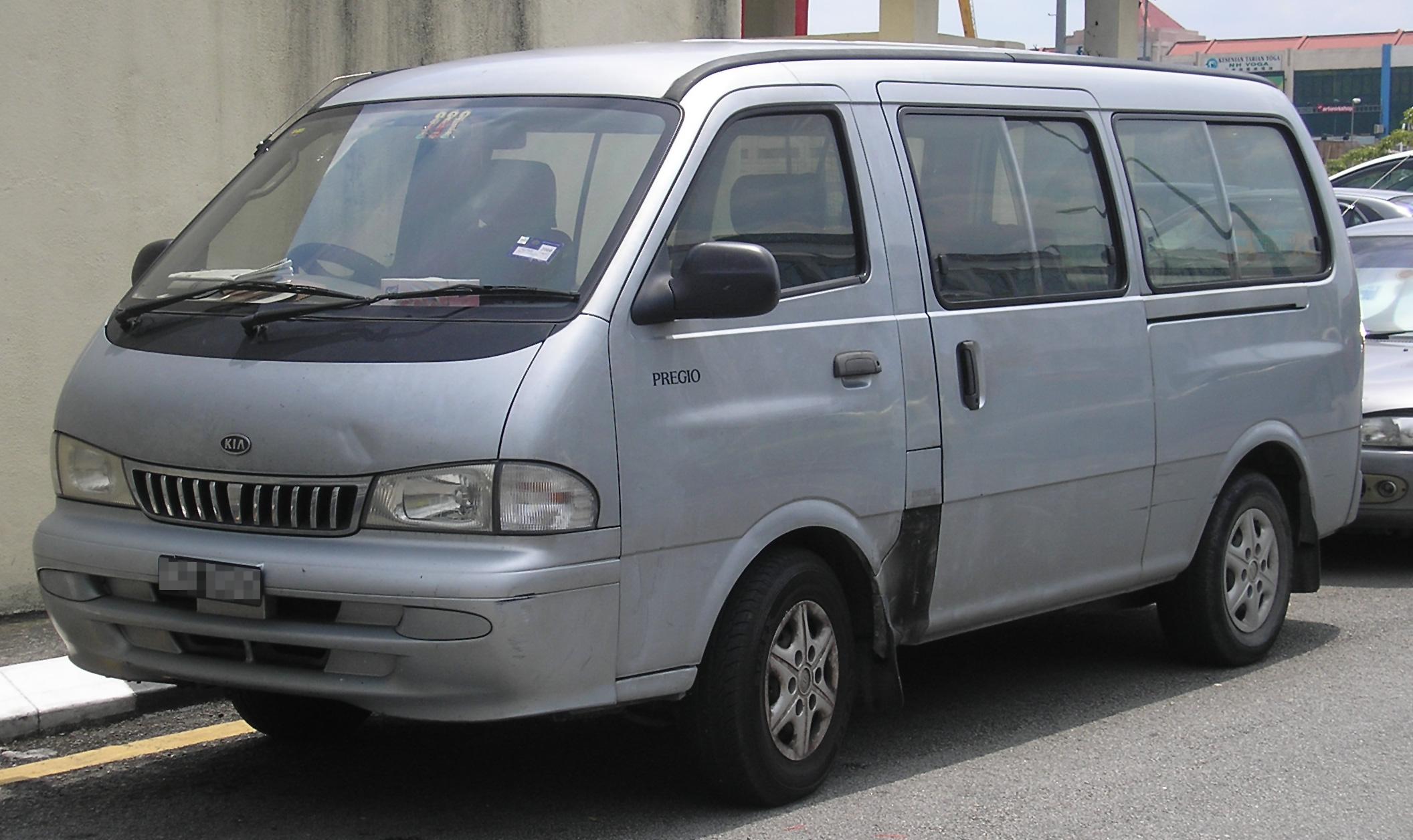 File:Kia Pregio (first generation) (front), Serdang.jpg - Wikimedia