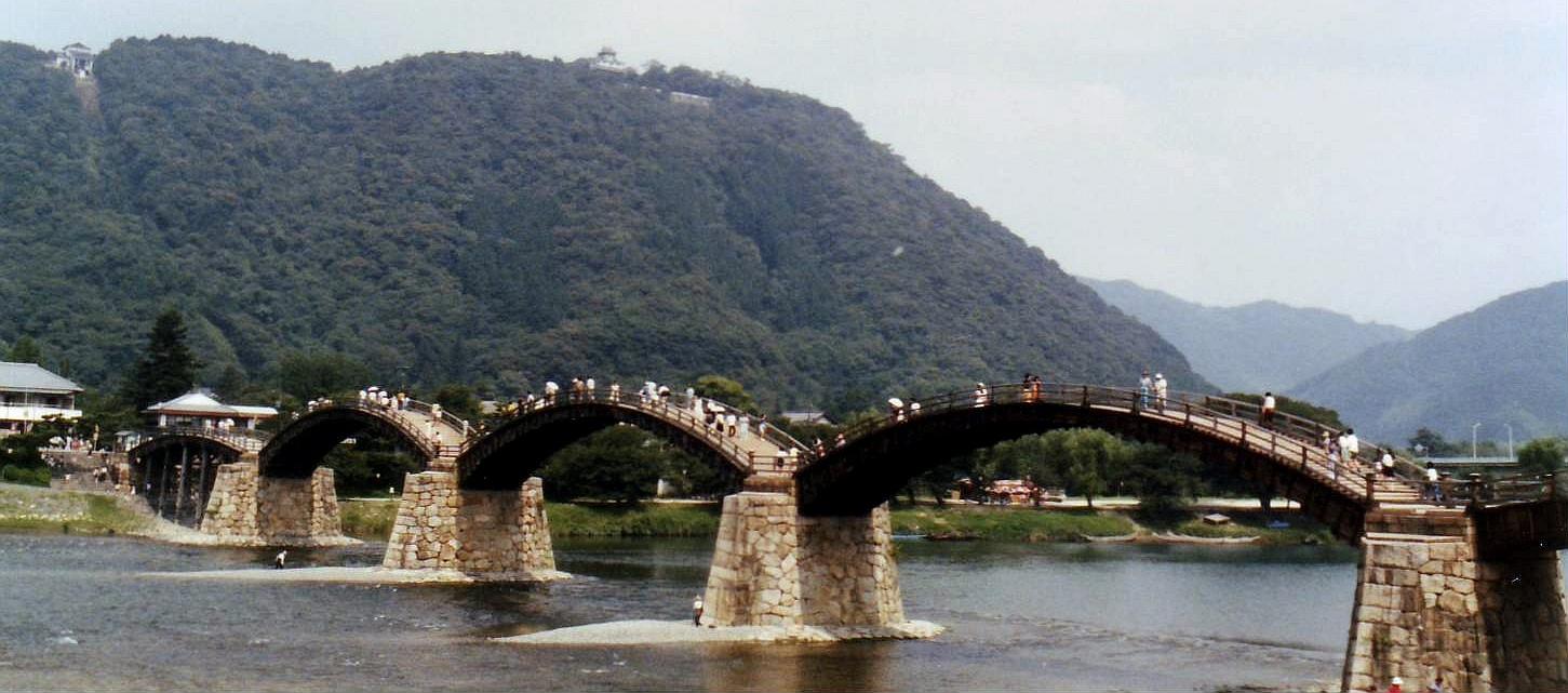 Arhitektura koja spaja ljude - Mostovi Kintai_Bridge