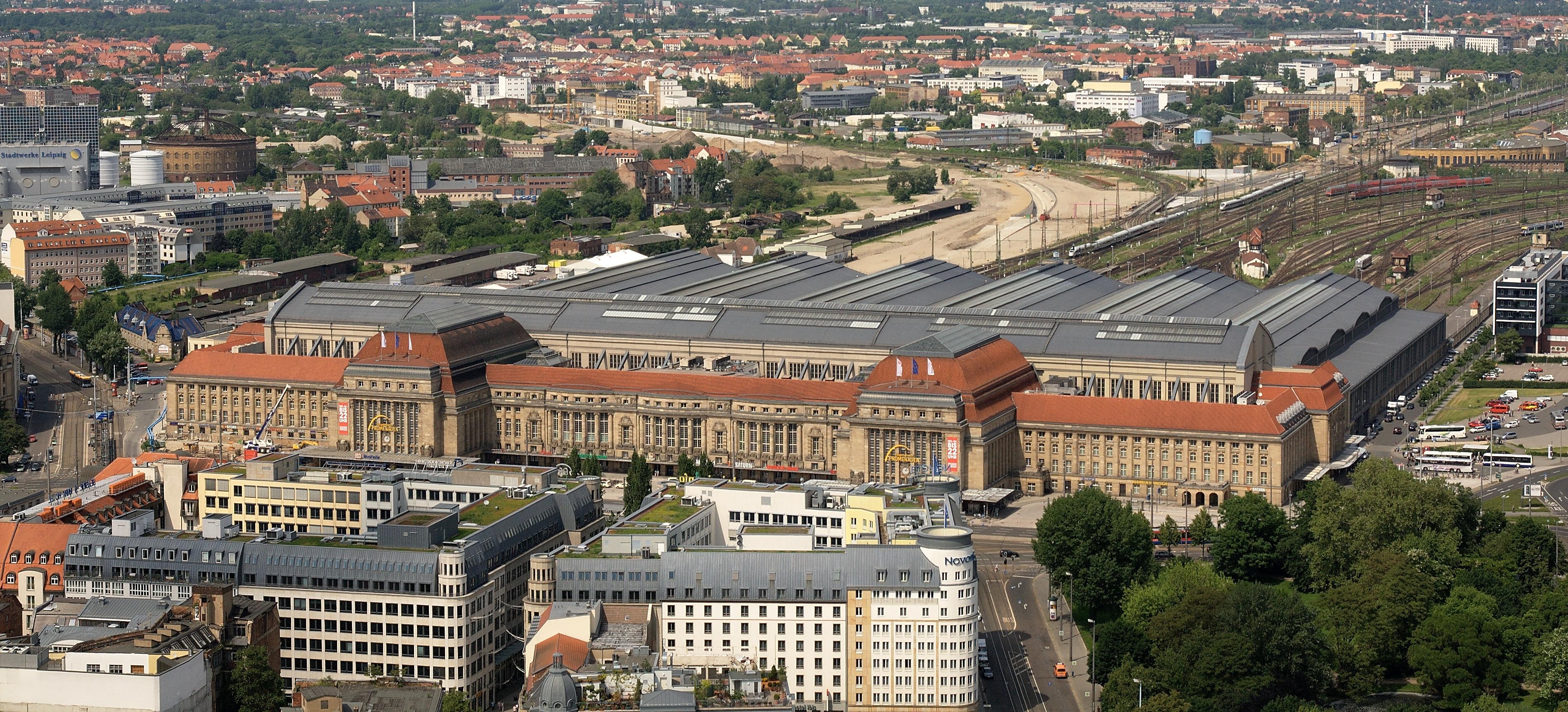 Estación Central de Leipzig - Wikipedia, la enciclopedia libre