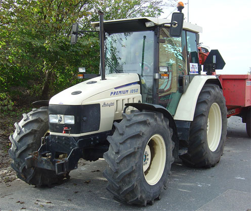 Depiction of Tractor
