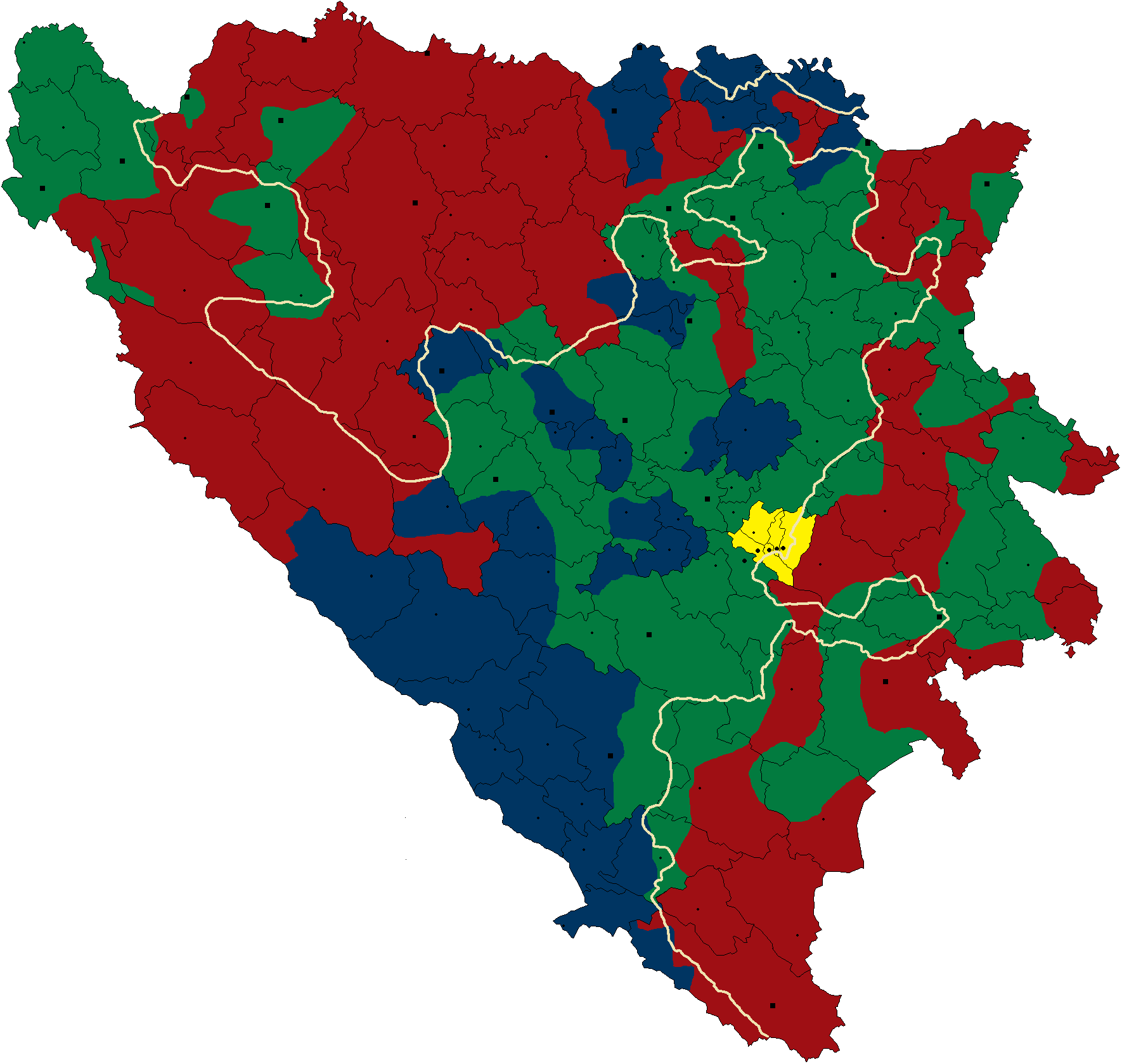Peace Plans Proposed Before And During The Bosnian War Wikipedia