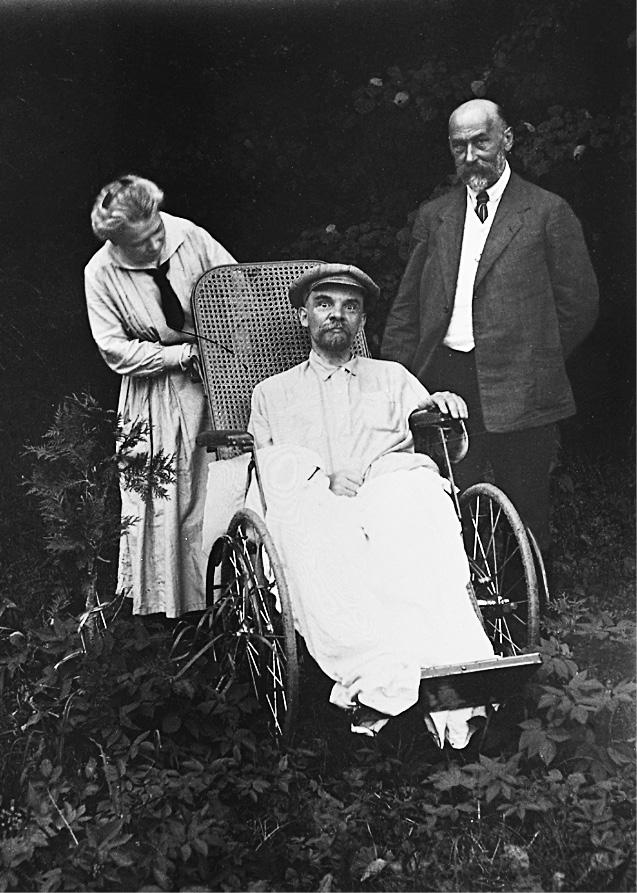 Ленин во время болезни
