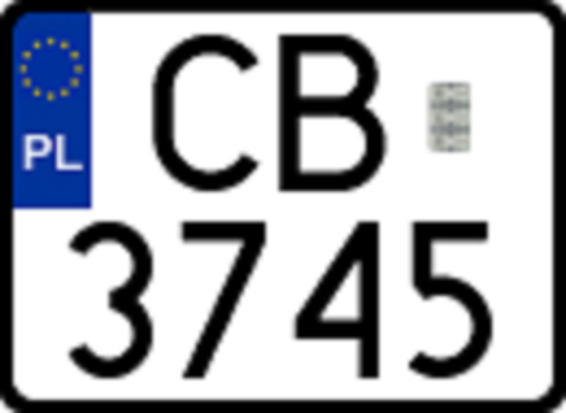 file license plate poland 2006 two wikimedia commons. Black Bedroom Furniture Sets. Home Design Ideas