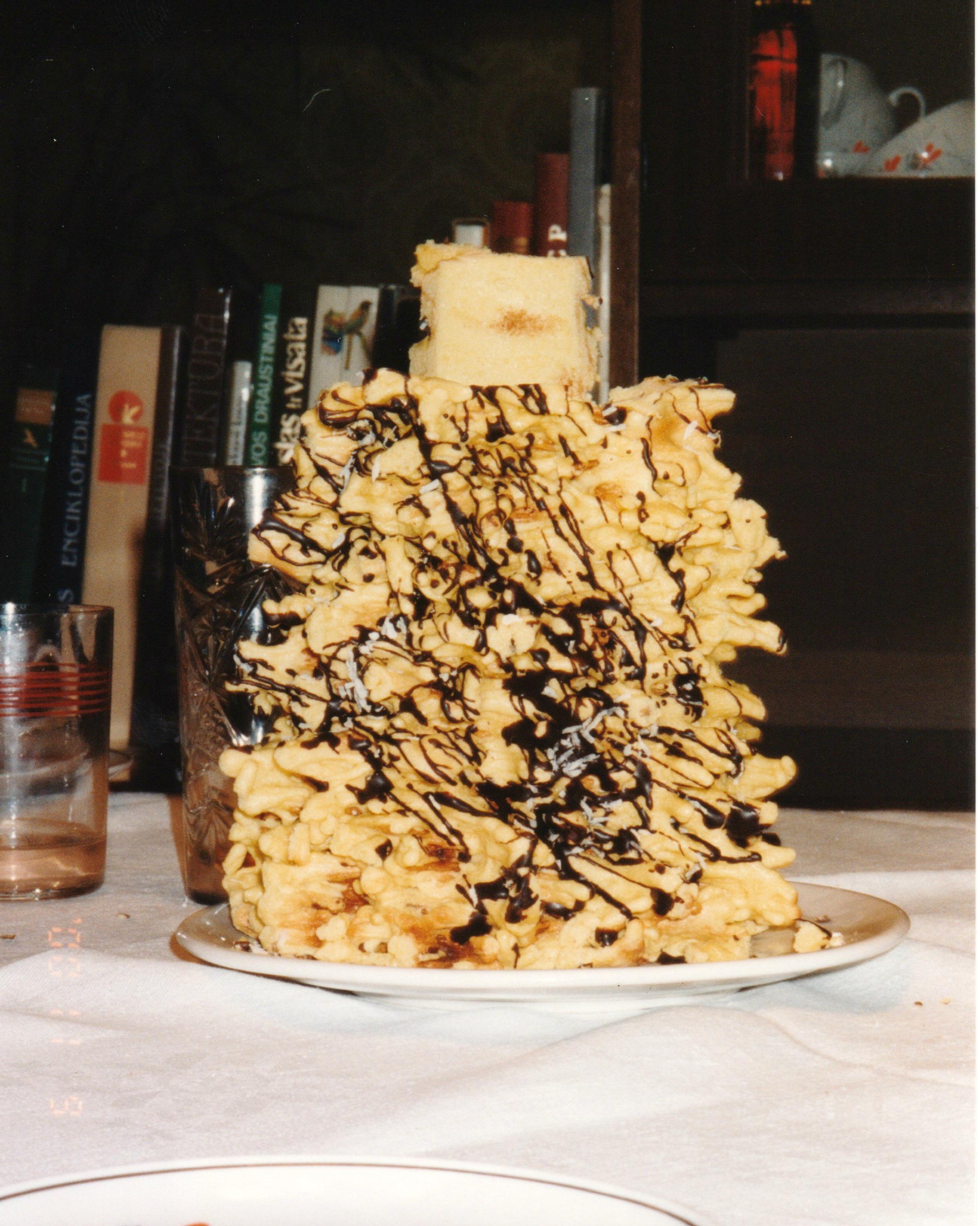 Lithuanian Birthday Cake