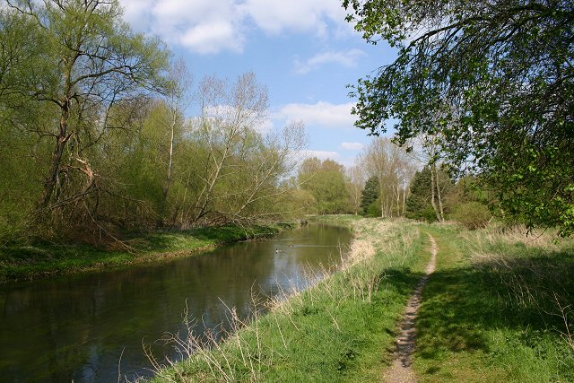 Little Ouse River and path - geograph.org.uk - 405098