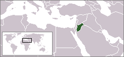 Location of Yordania