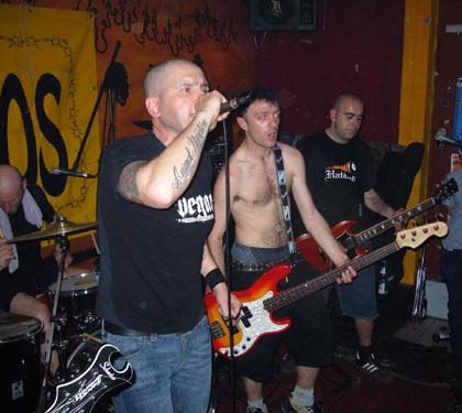 T-Shirt Skinhead classico ragnatela OI PUNK Skins SKA