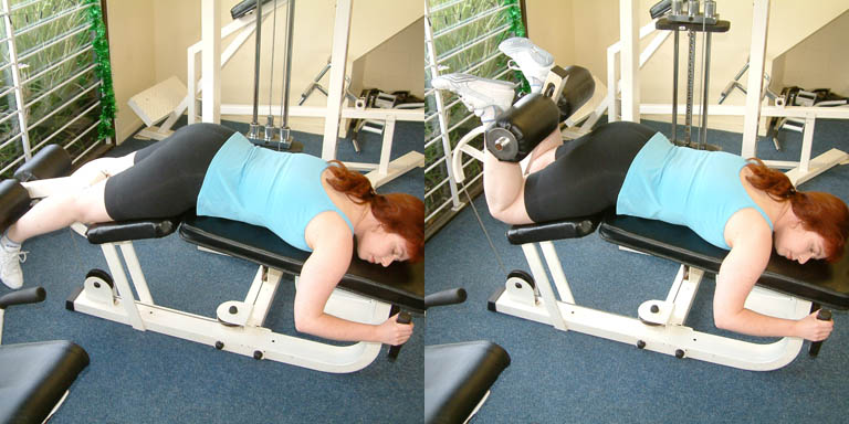 hamstring curls without machine