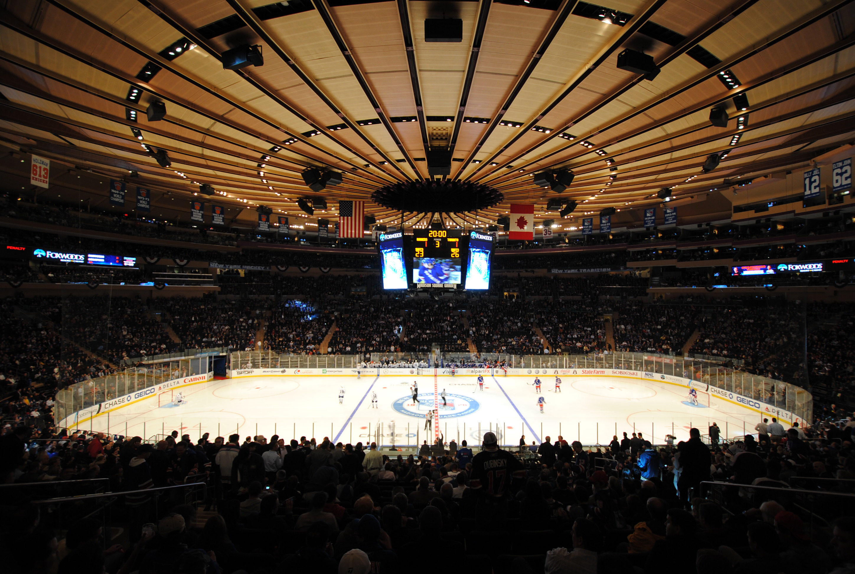 Image Gallery Madison Square Garden Hockey