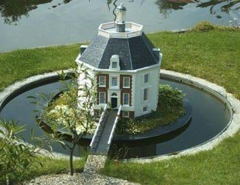 Drakensteyn, Ridderhofstad, achthoekig centraliserend landhuis in ...