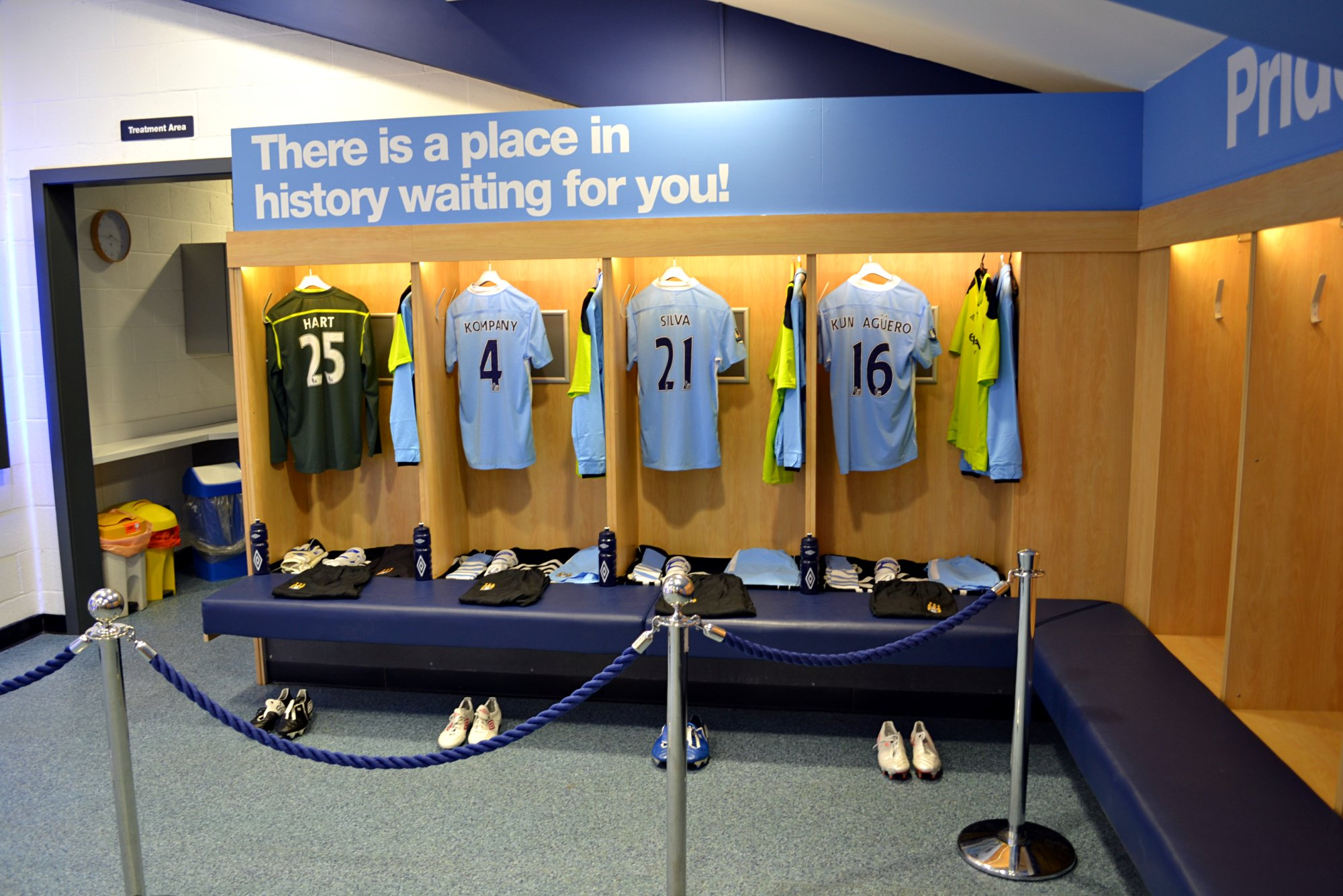 Manchester City Stadium Tour
