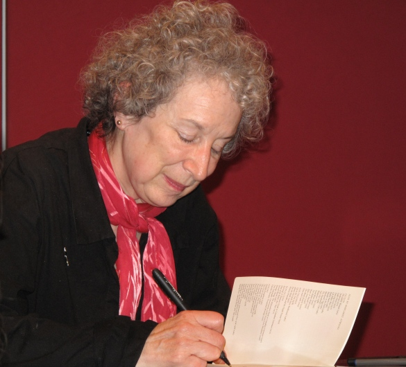 Margaret Atwood wrote Bodily Harm in 1981, later in 1985 she wrote The Handmaid's Tale. Source: Commons.Wikimedia