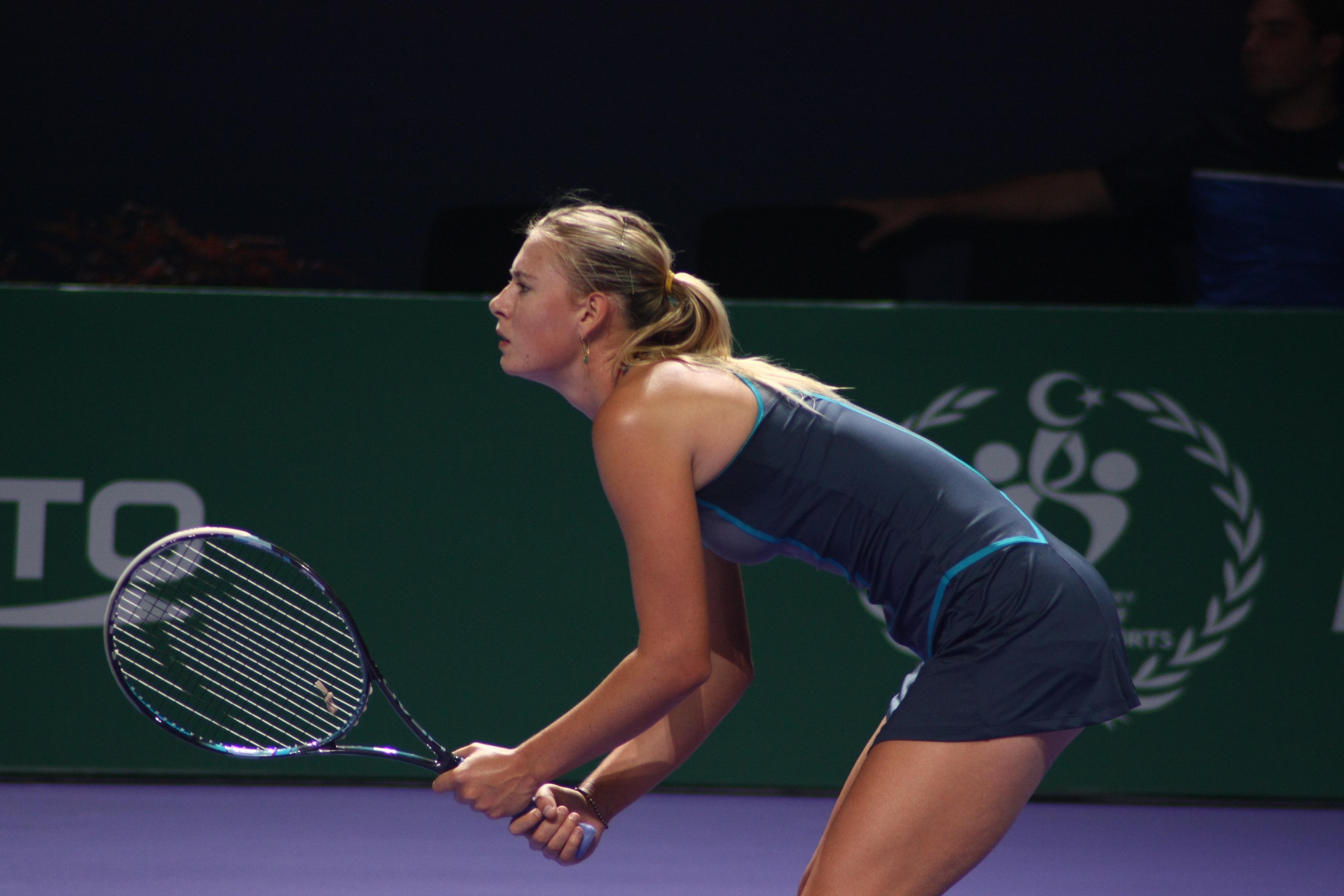 when Sharapova will retire