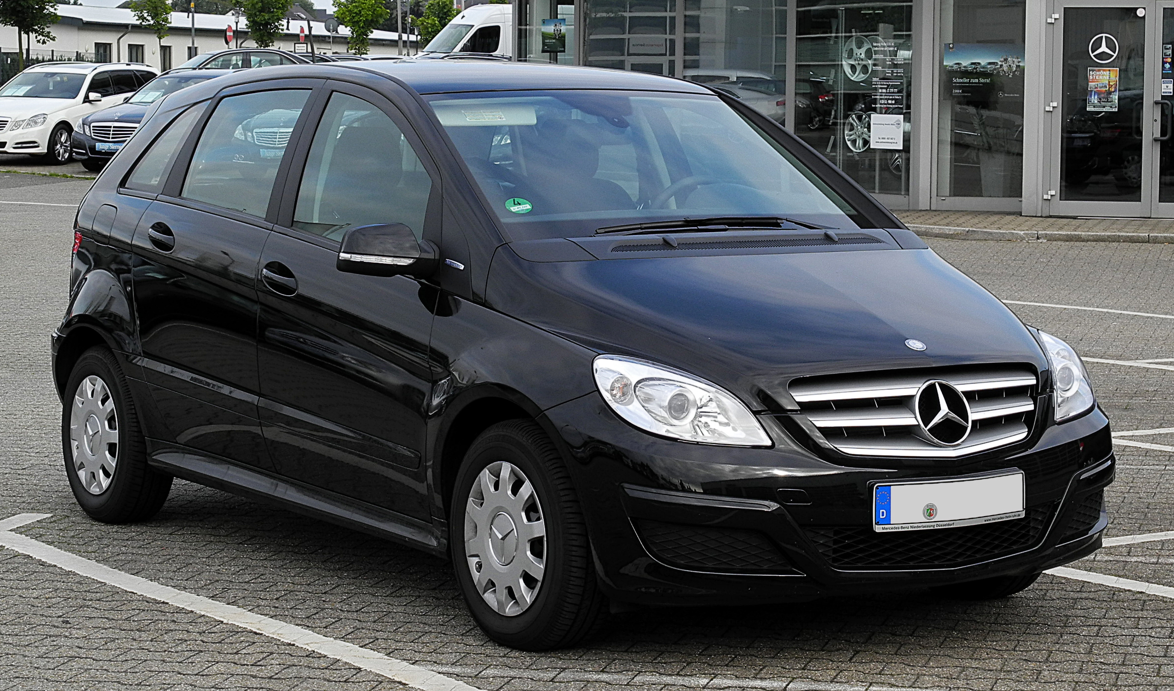 file mercedes benz b klasse t 245 facelift frontansicht 3 juli 2011. Black Bedroom Furniture Sets. Home Design Ideas