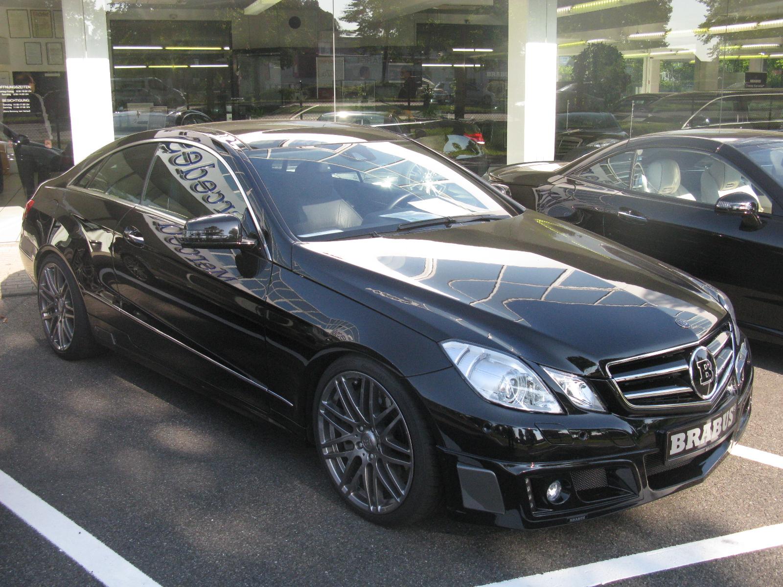 E Class Coupe Mercedes Preview