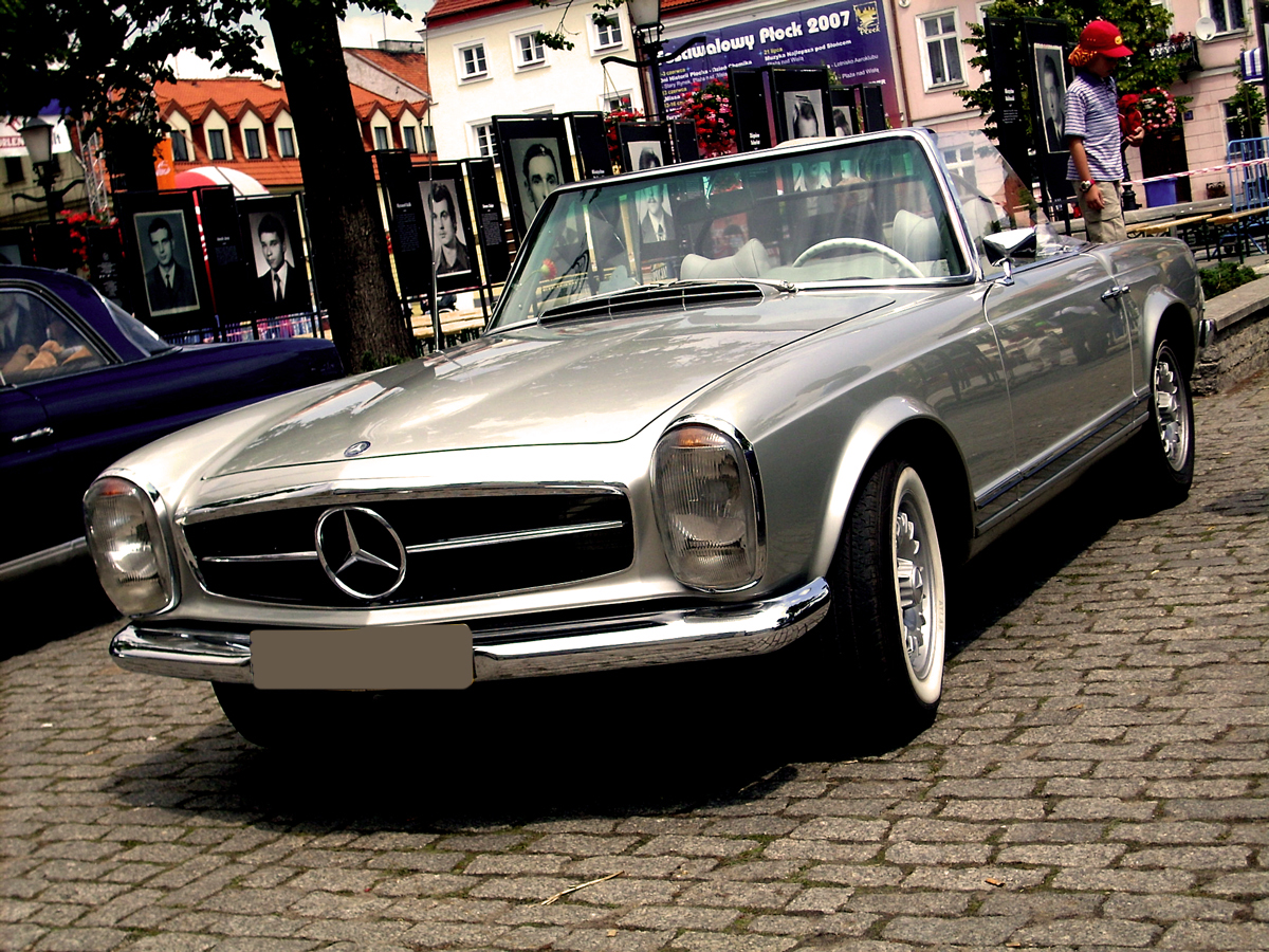 Mercedes benz pagoda w113 for Mercedes benz 280sl pagoda