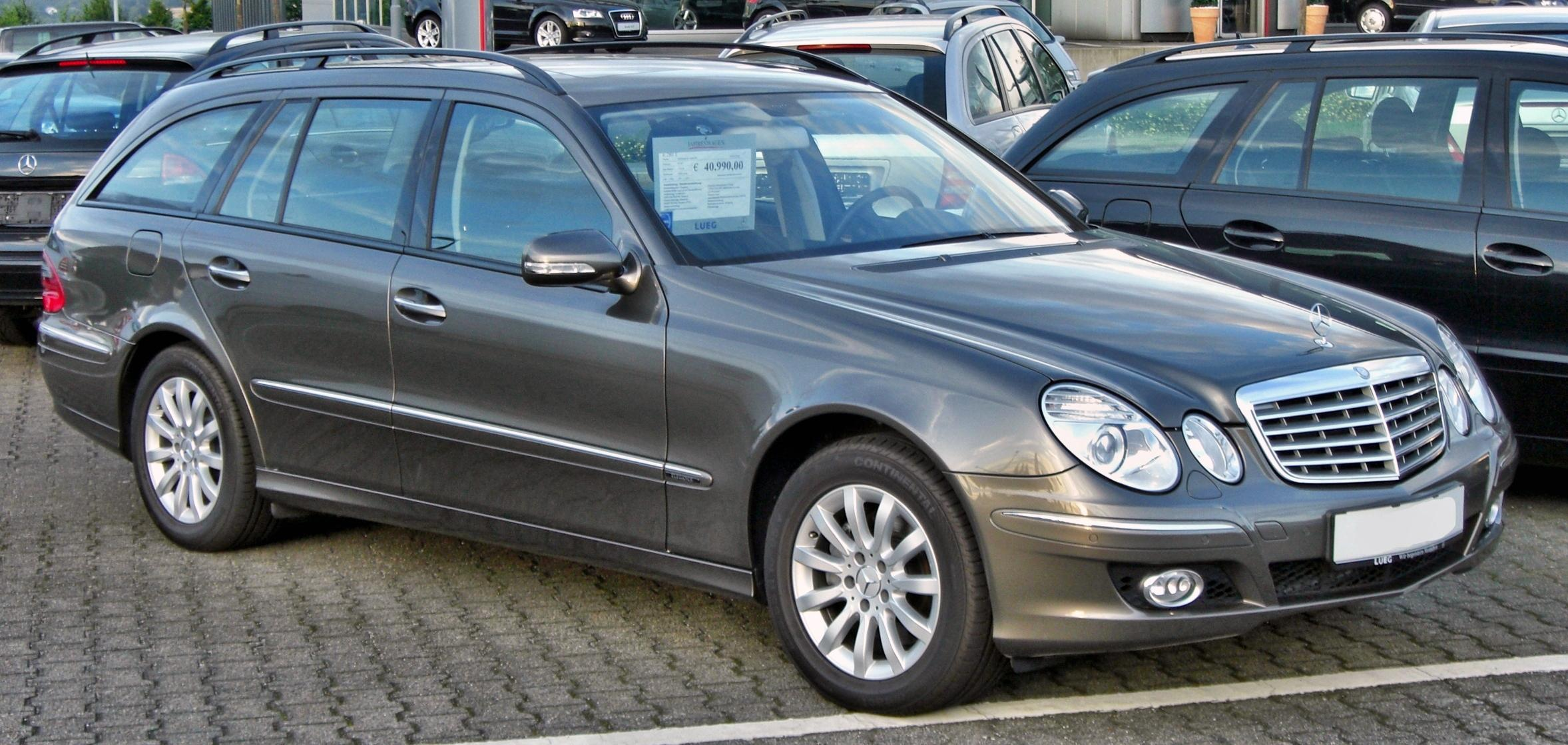 file mercedes e280t s211 facelift wikimedia commons. Black Bedroom Furniture Sets. Home Design Ideas