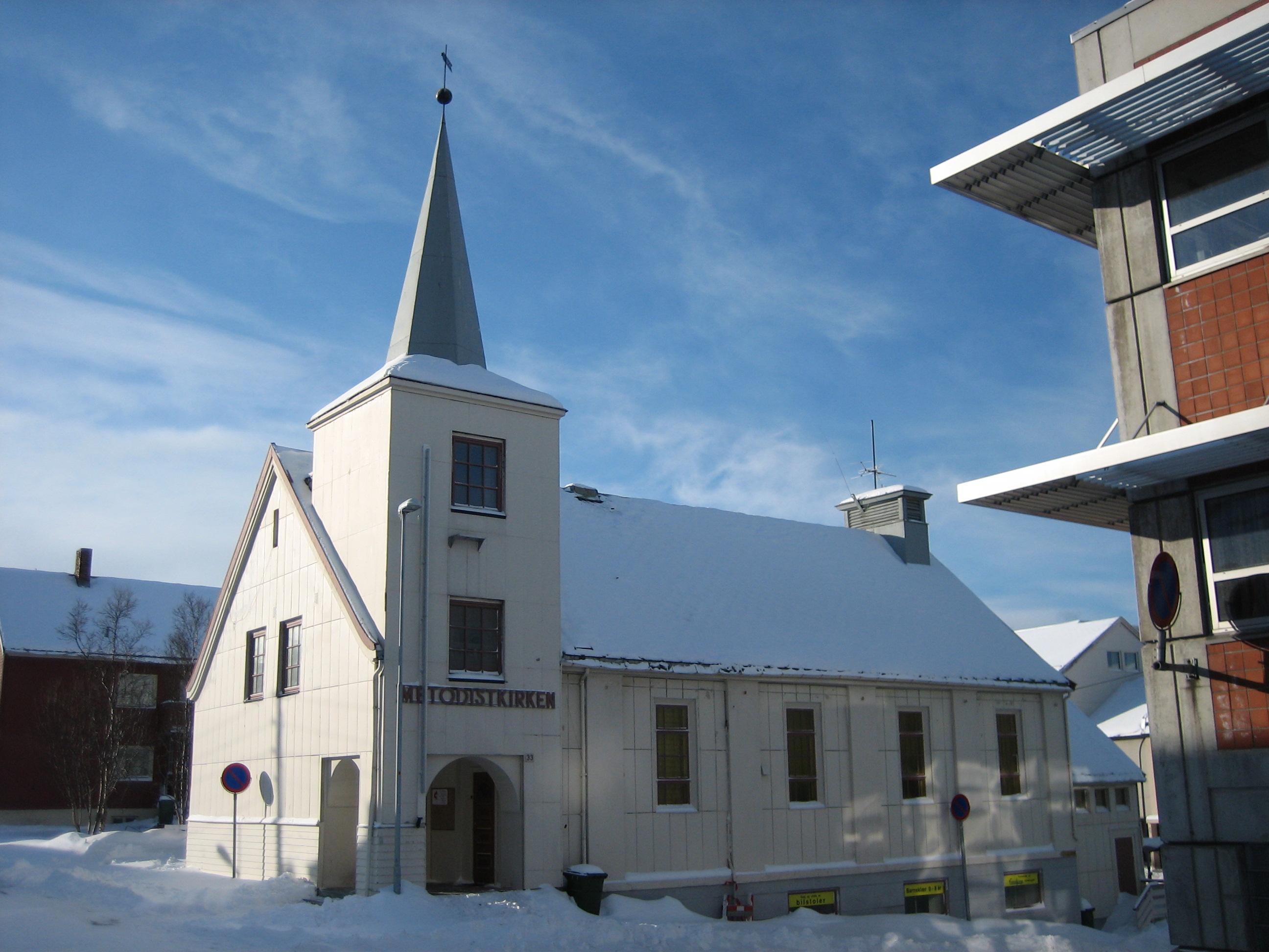 file methodist church in hammerfest jpg wikimedia commons