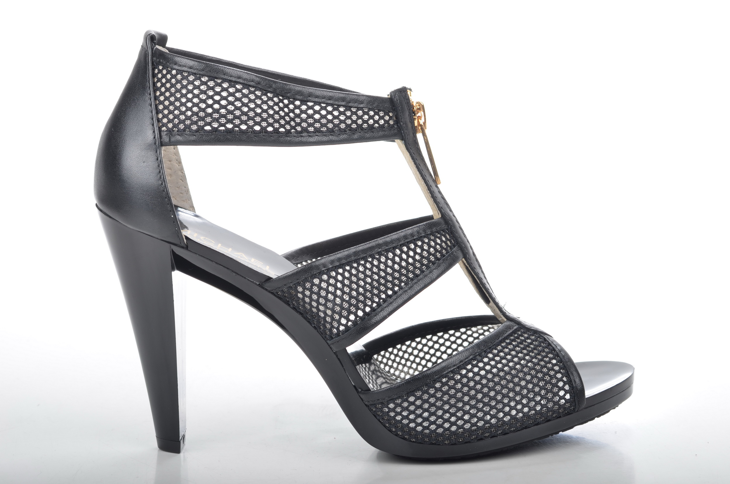 file michael kors berkley t strap high heel sandalette mit. Black Bedroom Furniture Sets. Home Design Ideas