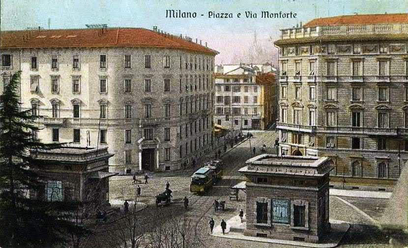 Porta monforte wikipedia for Corso arredatore d interni milano