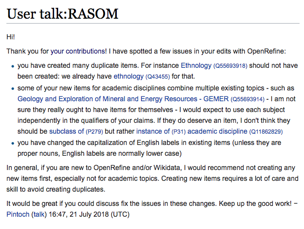 Wikidata:WikiProject University degrees/Reports - Wikidata