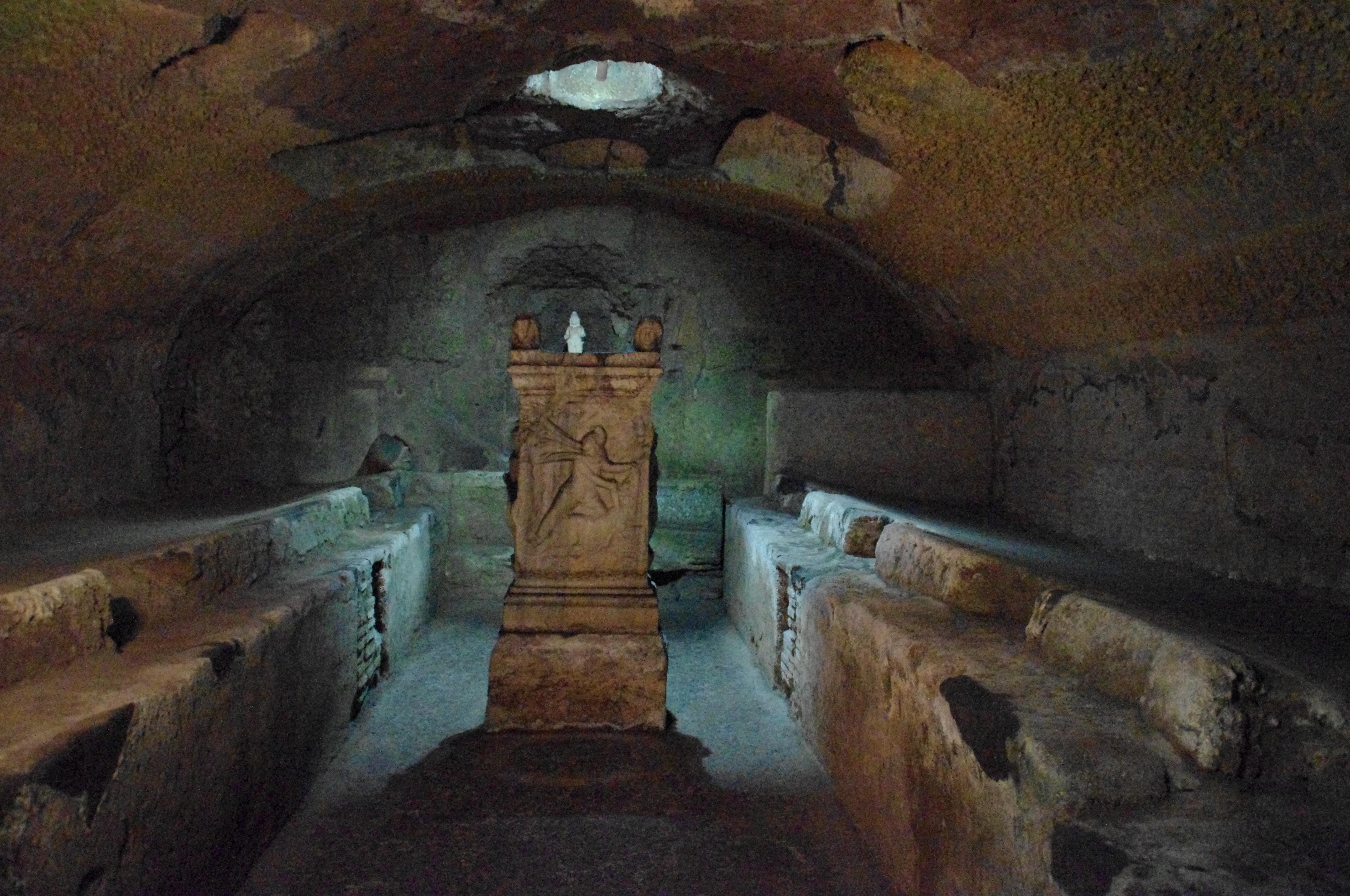 Mithraeum San Clemente Rom.JPG