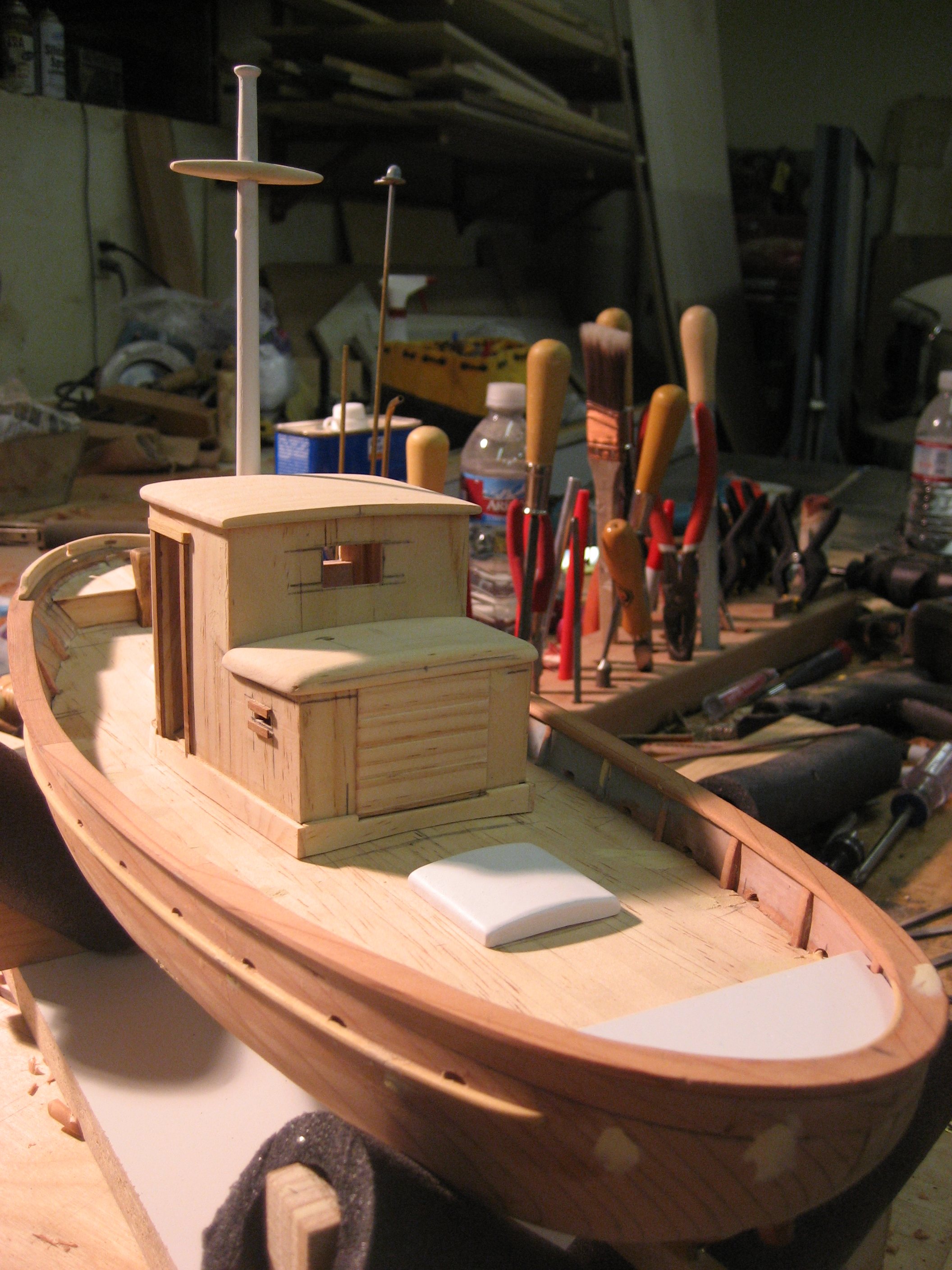 File:Model boat - Woodwork.jpg - Wikimedia Commons