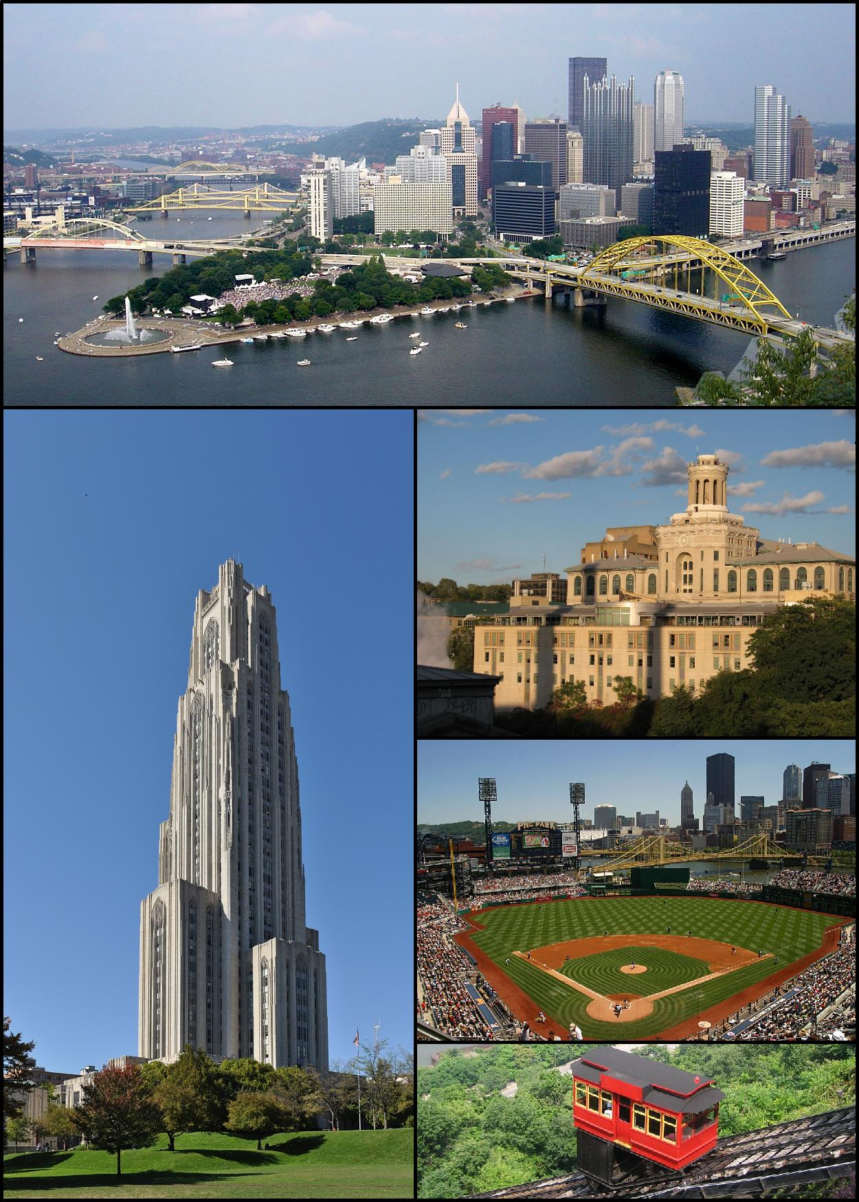 Depiction of Pittsburgh