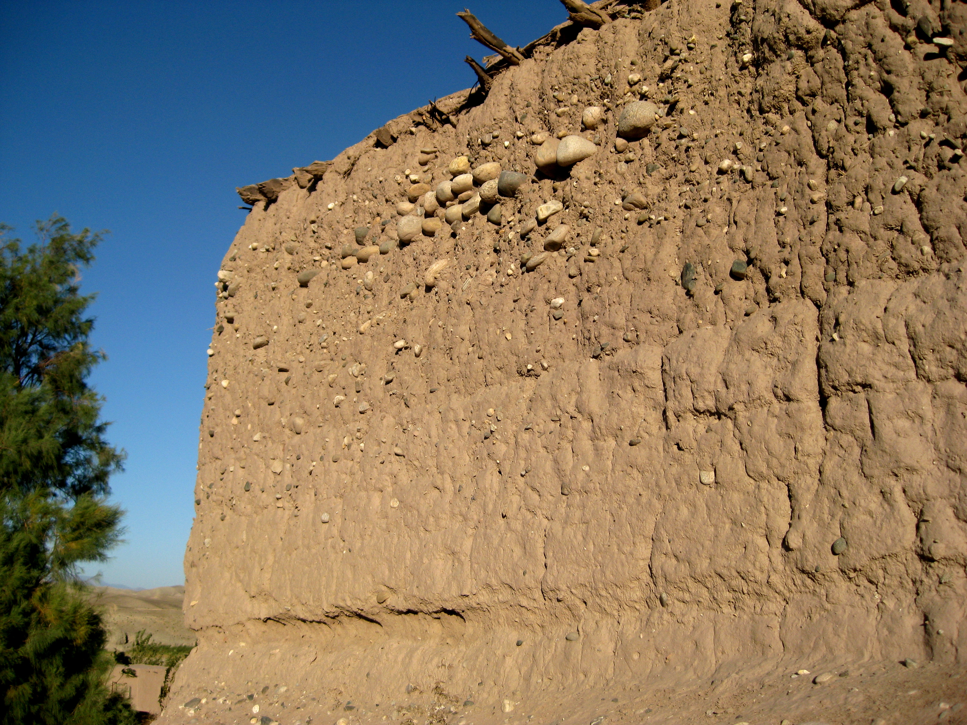 Building A Mud Wall