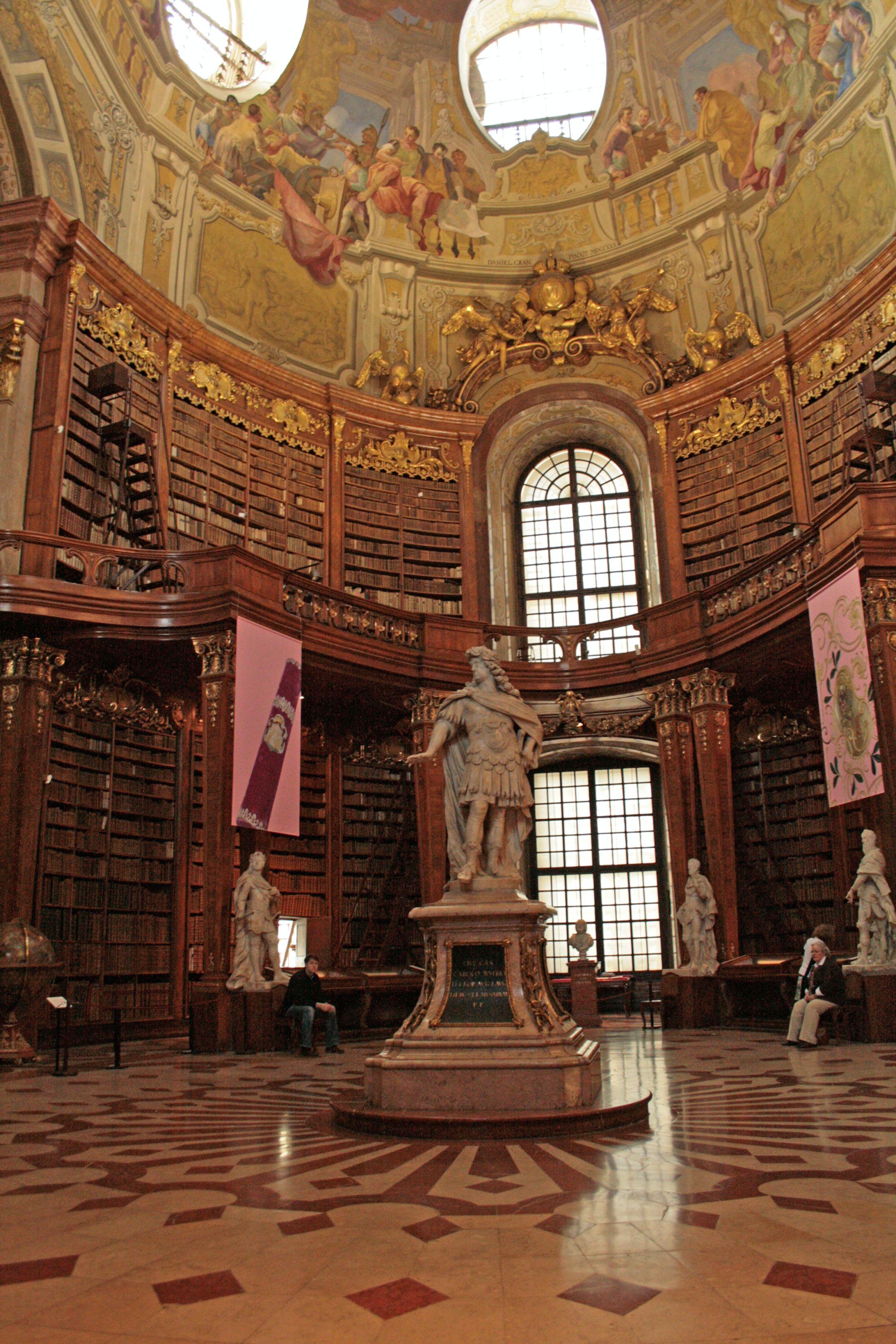 Biblioteca de la Austrian National Library, Prunksaal, en Viena