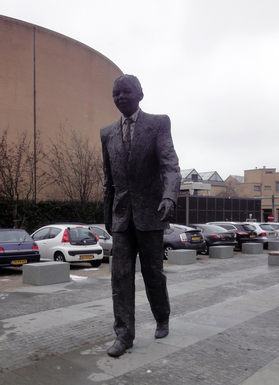 Nelson Mandela Sculpture, The Hague