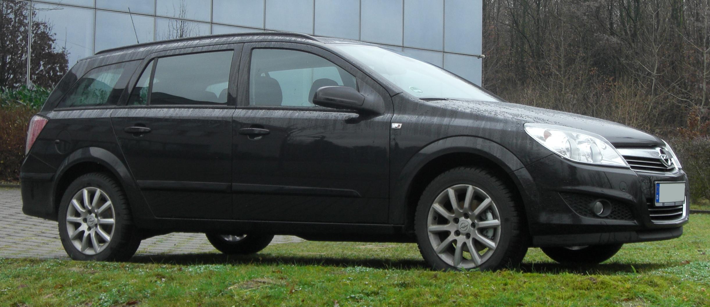 Opel Astra h Caravan Facelift