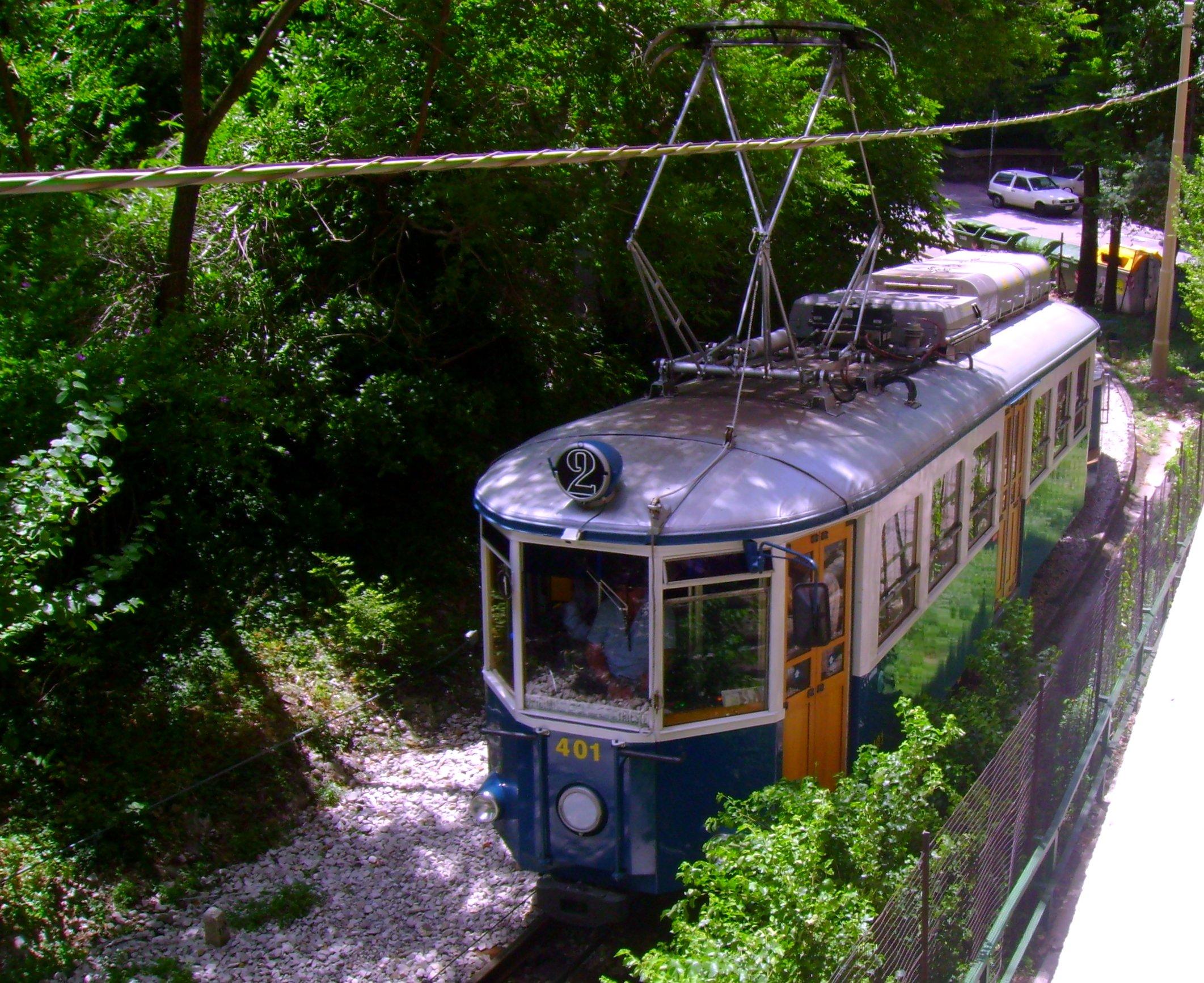 Trieste tram, Trieste funicular, Opicina