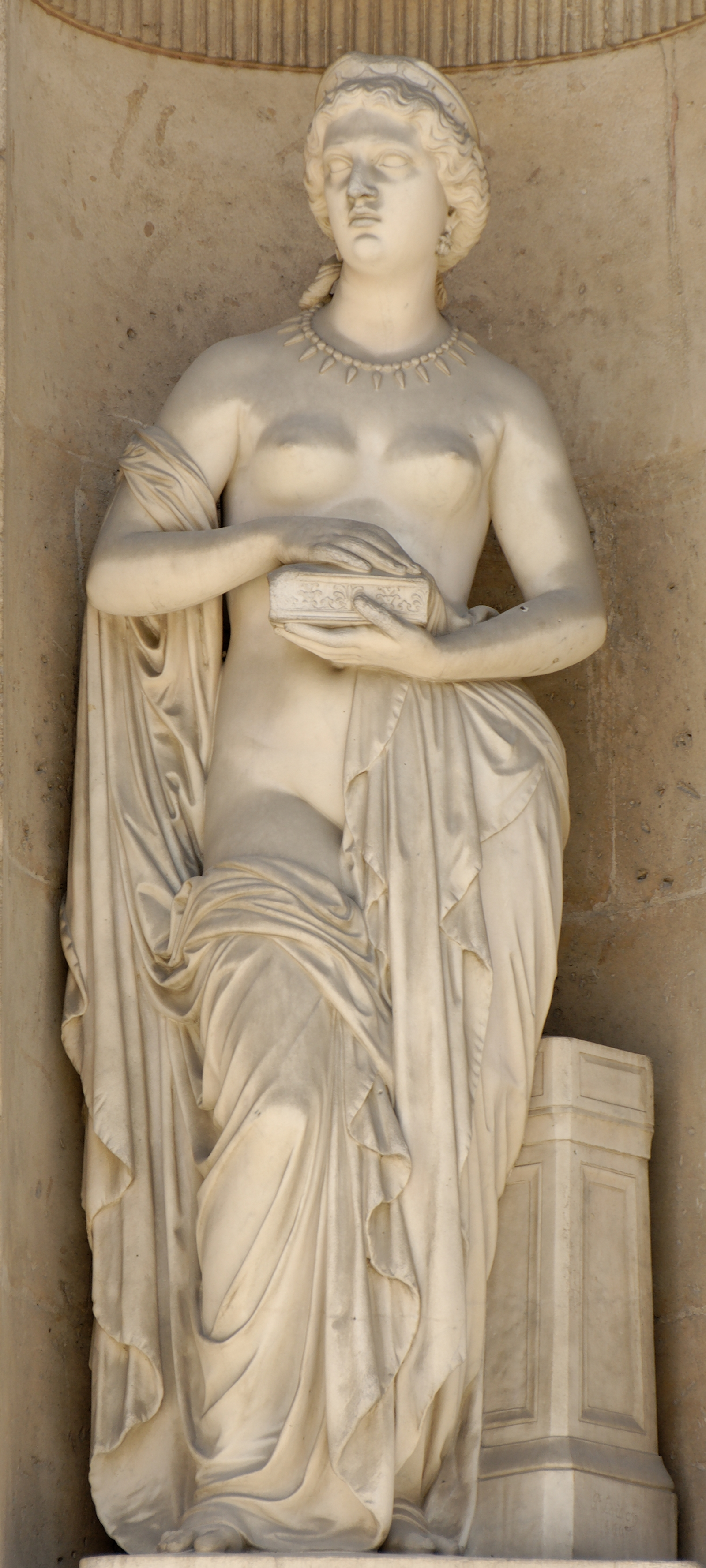 Pandora (1861), by Pierre Loison (1816–1886)