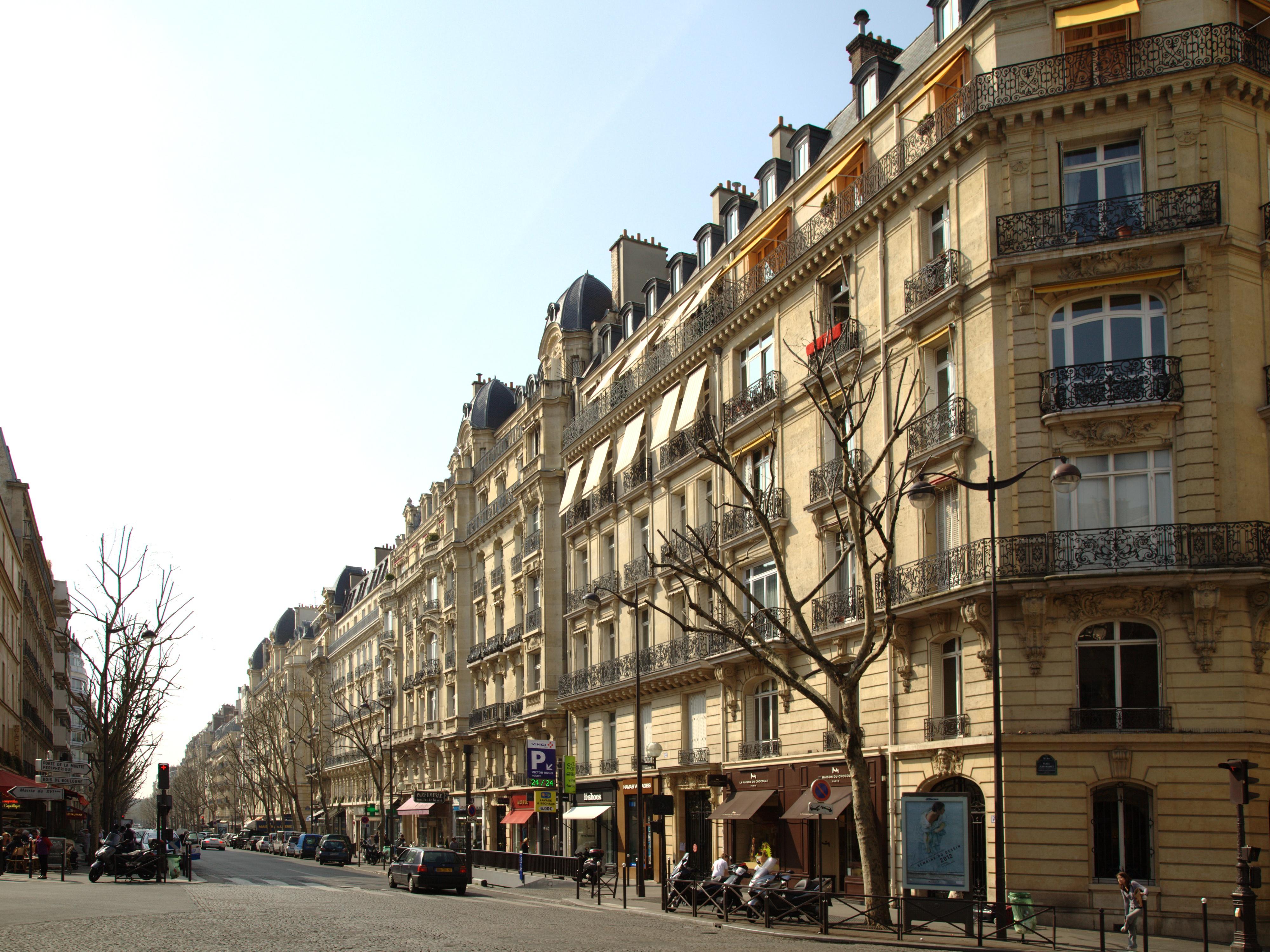 Archivo paris avenue victor wikipedia la enciclopedia libre - Victor hugo paris 16 ...