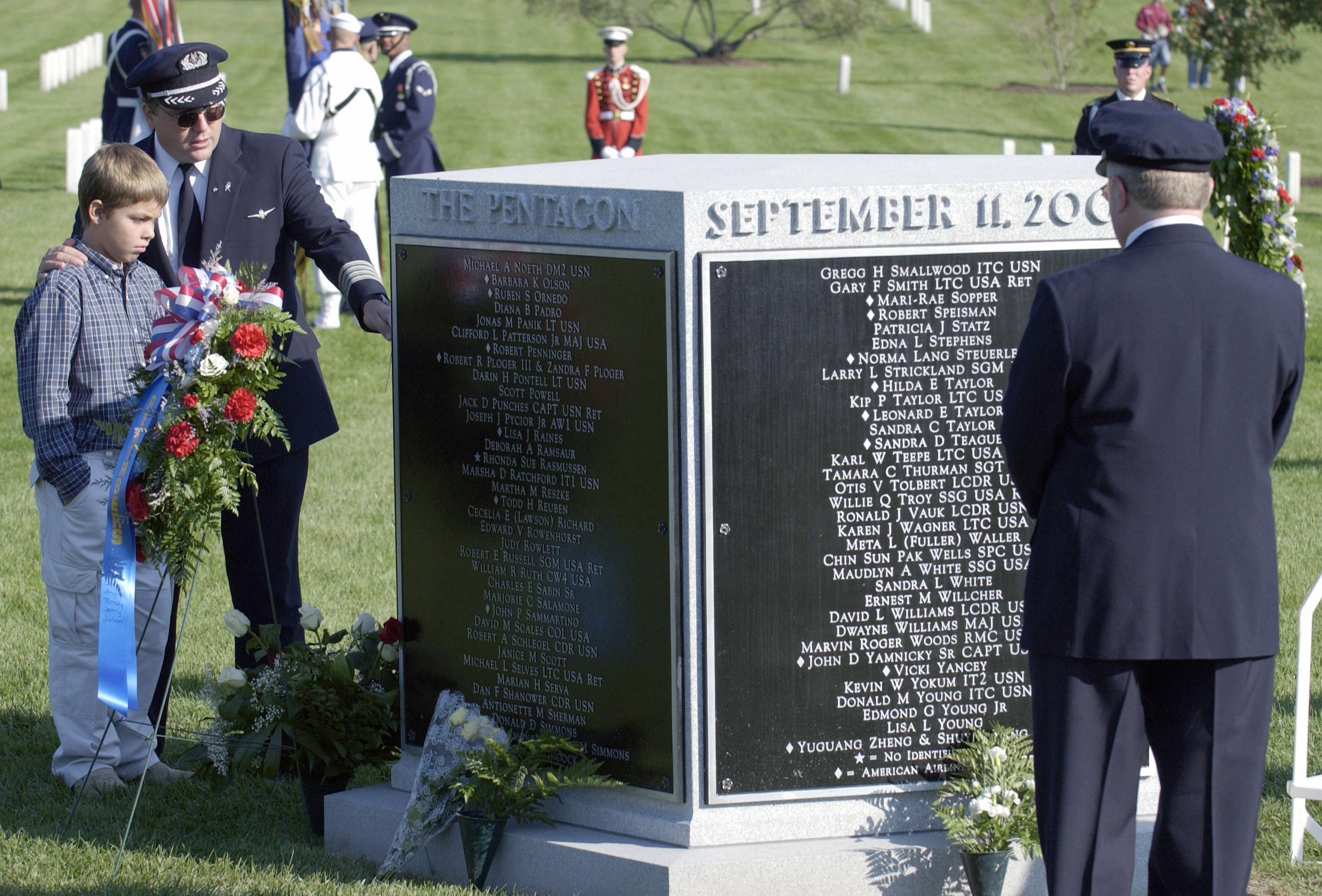 September 11 at Arlington Cemetery