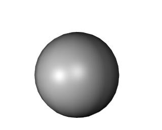 Phong shading example