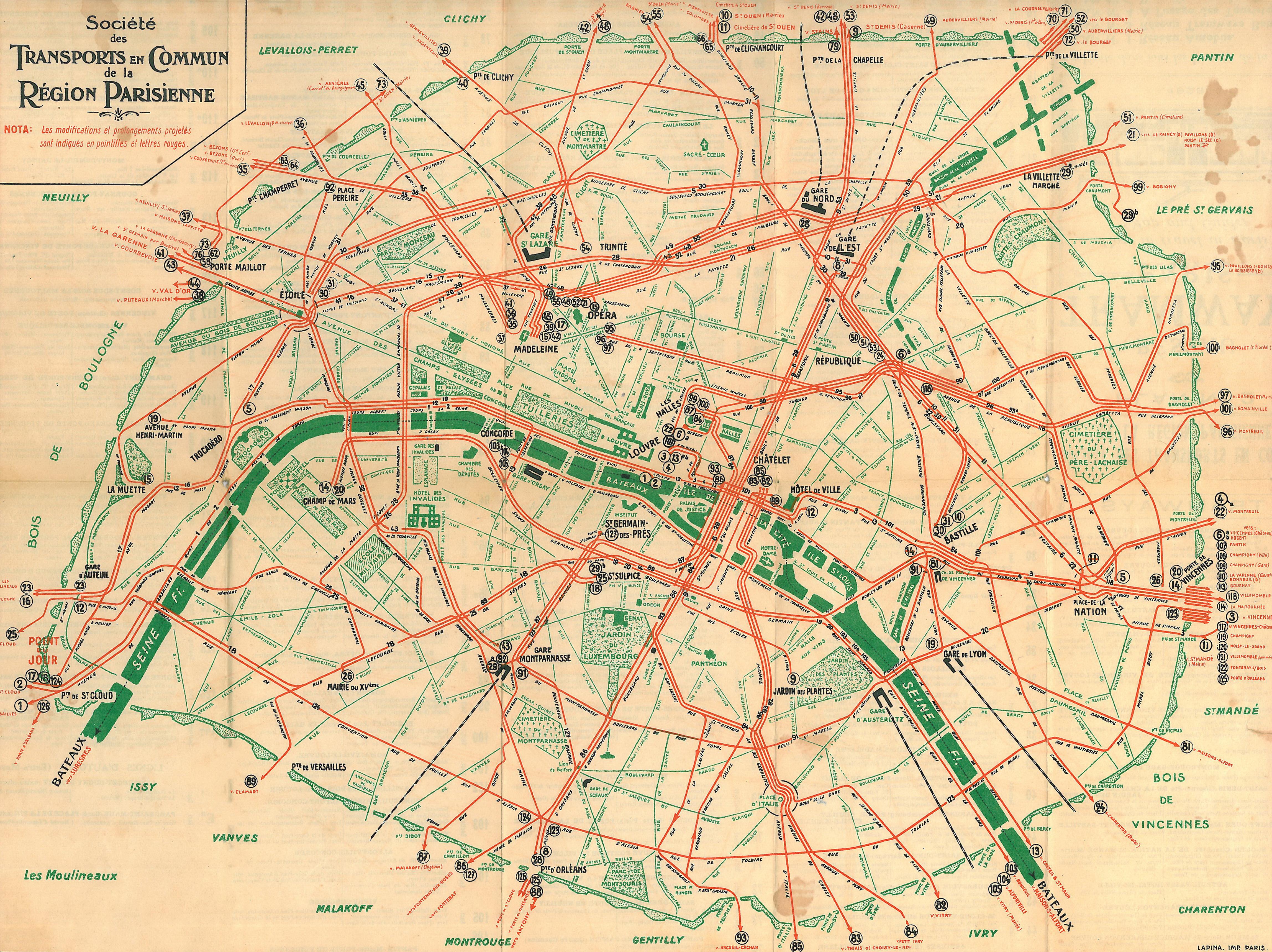 Plan Bus Ville De Bourges