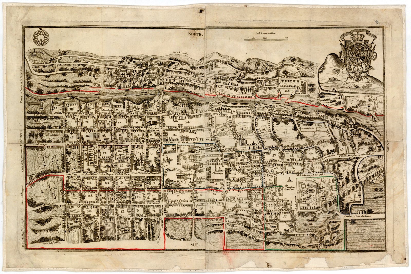 File Plano De Queretaro Calado 1796 Png Wikimedia Commons