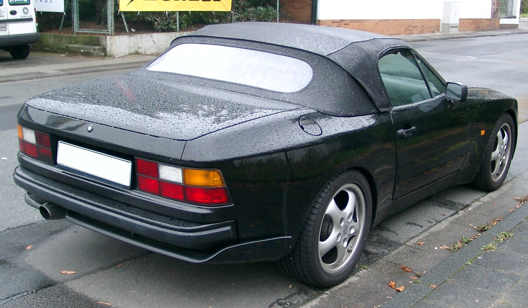 File Porsche 944 Cabrio Rear 20070928 Jpg Wikimedia Commons