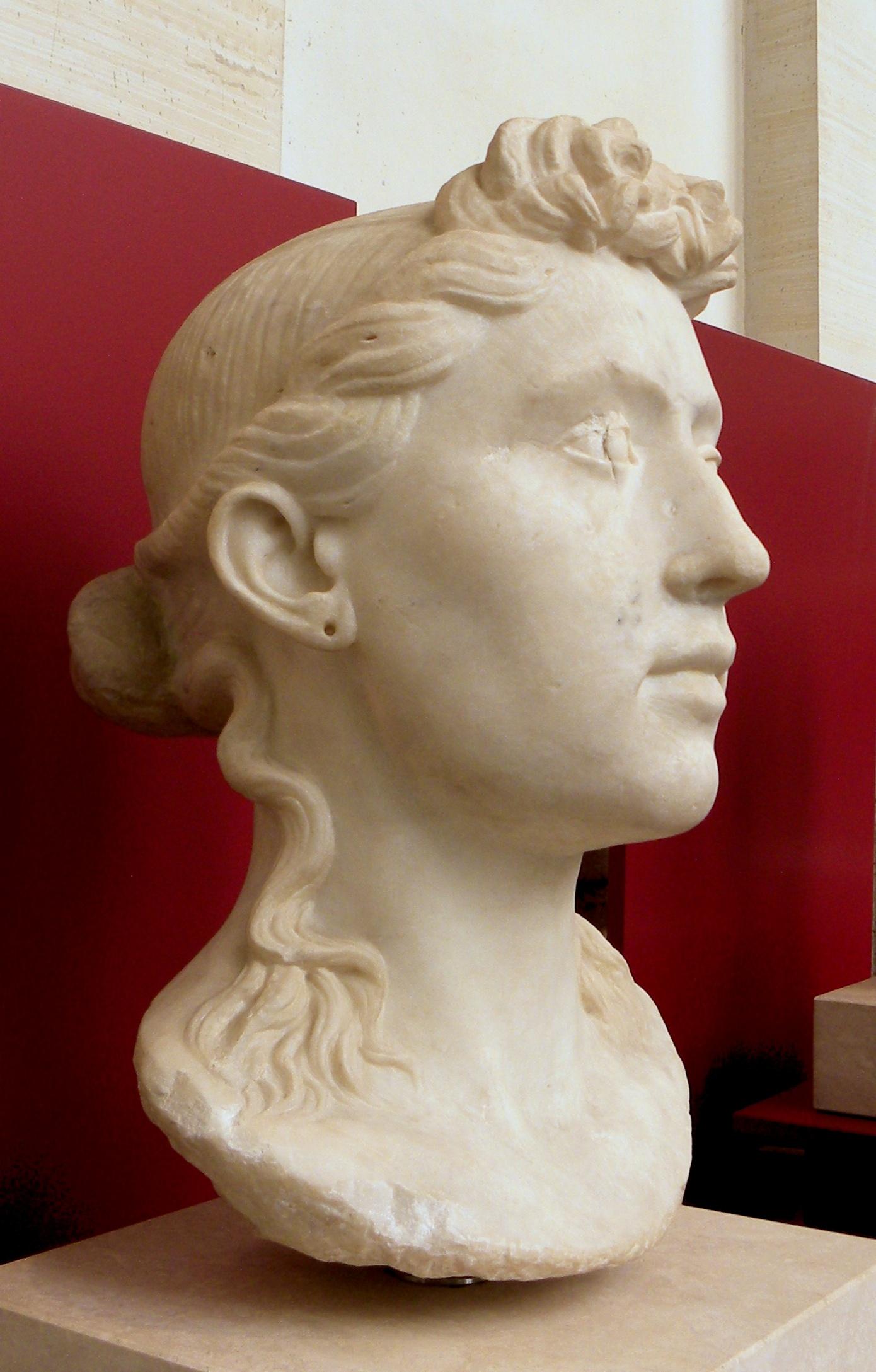 File Portrait Of Young Roman Woman Jpg Wikimedia Commons