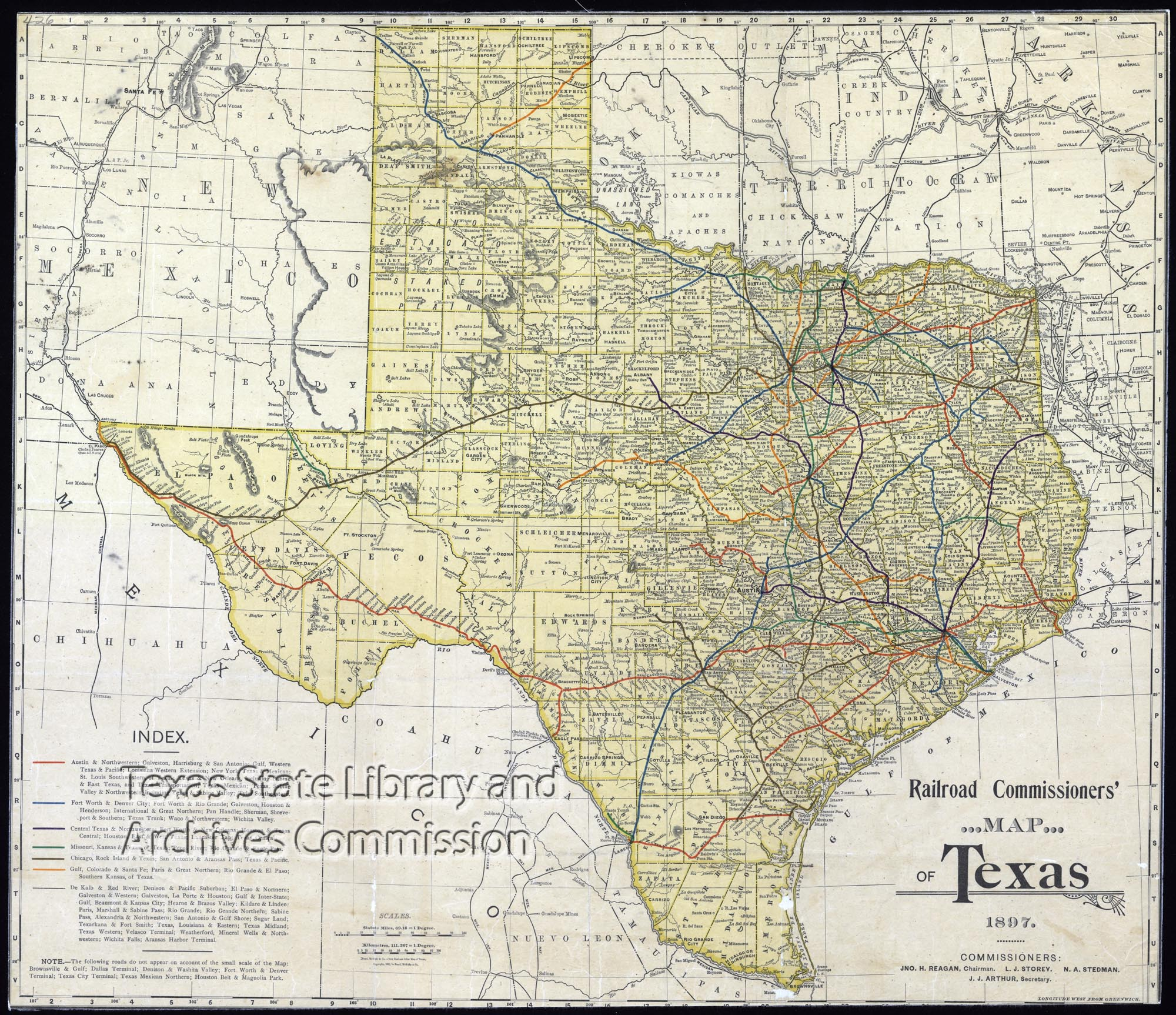 Railroad Map Of Texas.File Railroad Commissioner S Map Of Texas 27516493413 Jpg