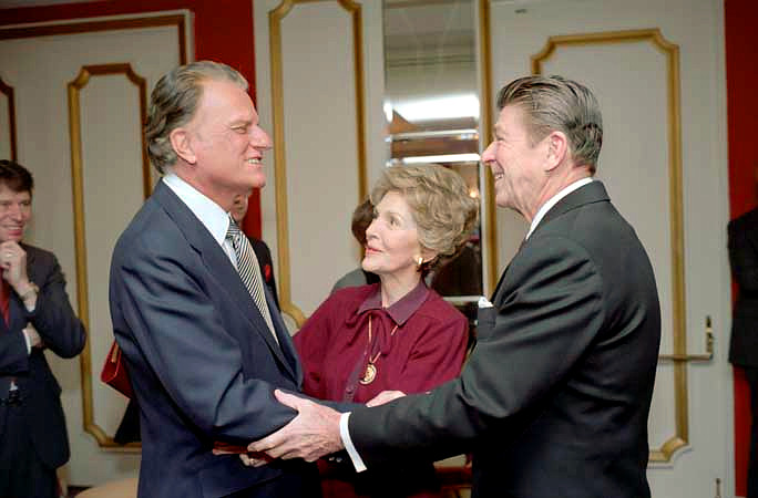 Billy Graham & Pres. & Mrs. Reagan