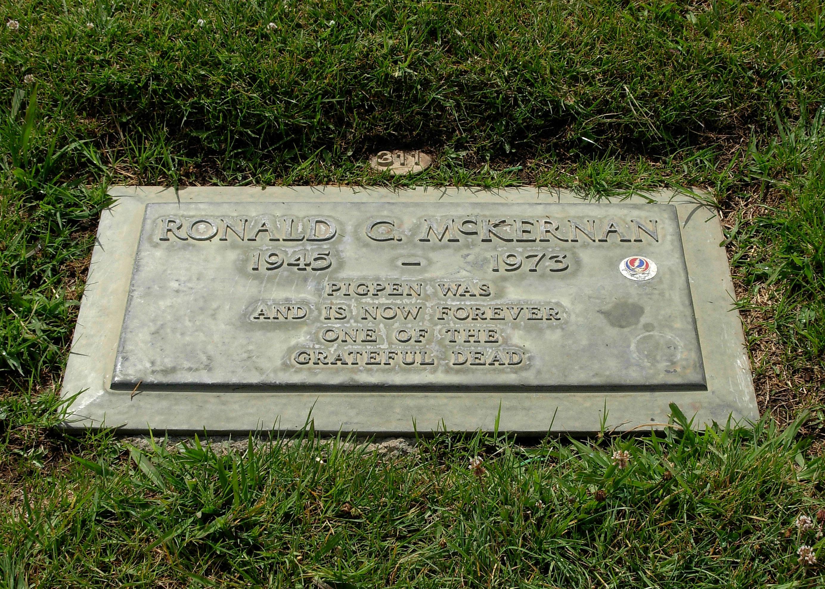 Grab von Ron McKernan