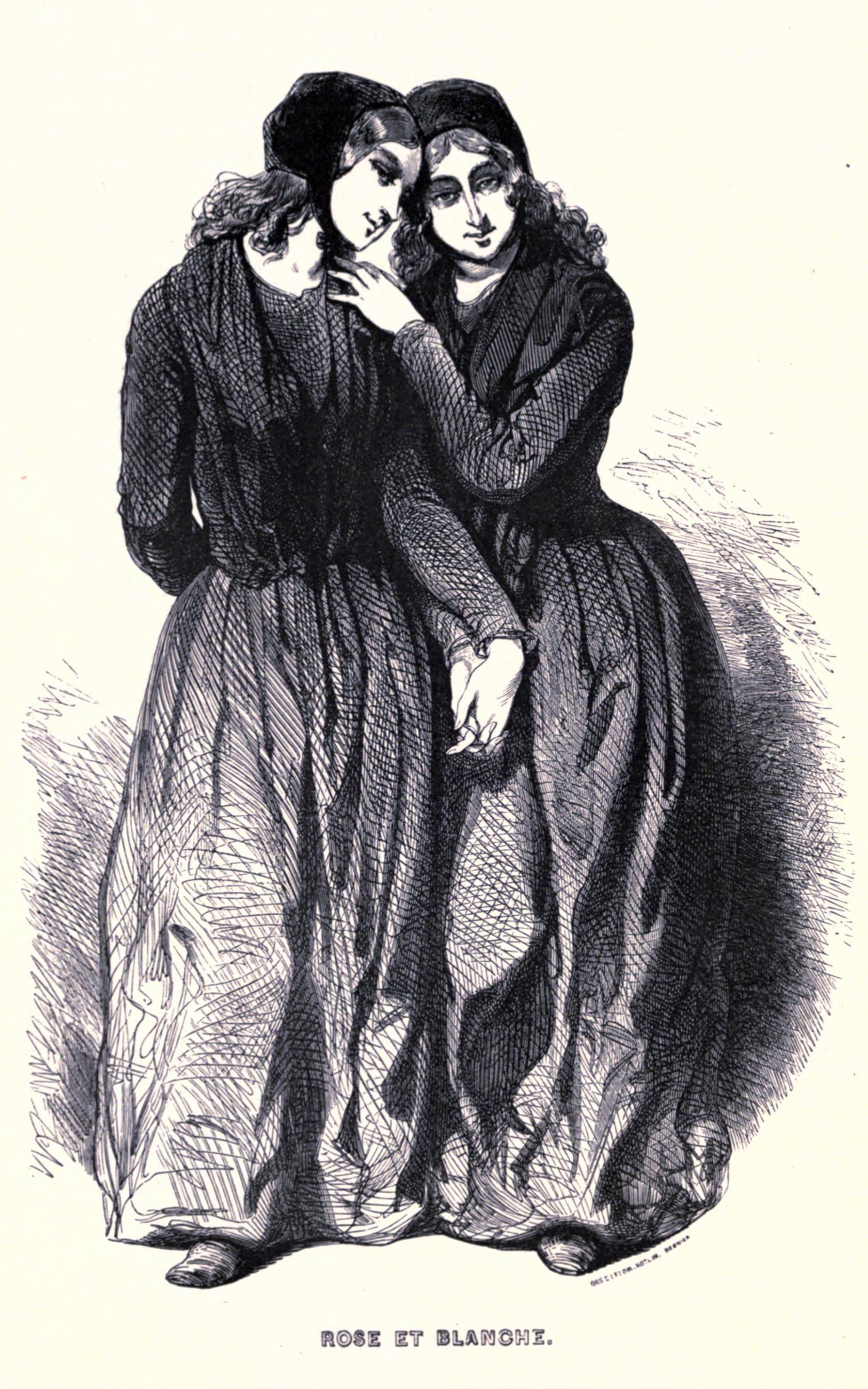 filerose et blanche gavarnijpg - Rose Et Blanche