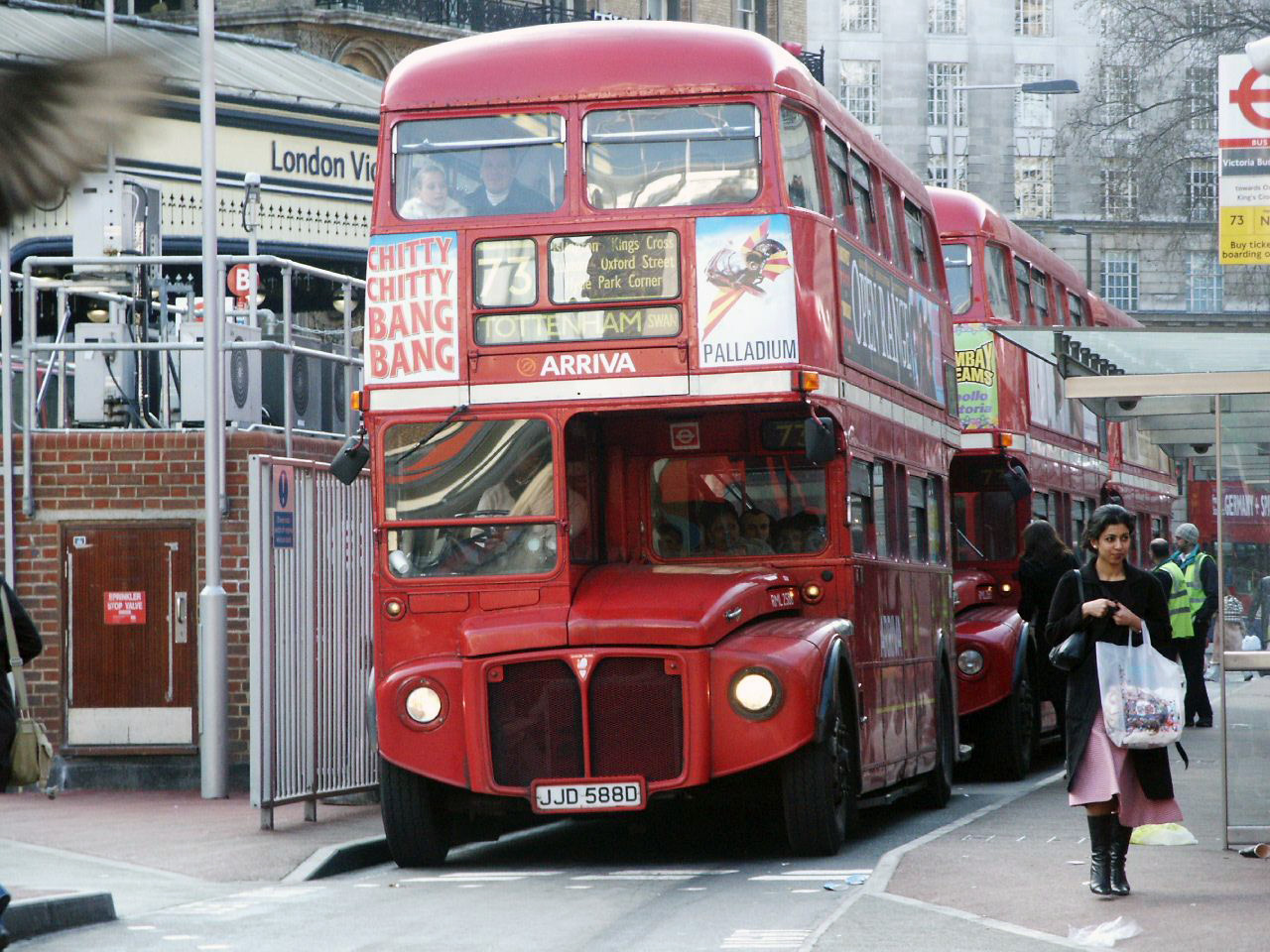 File:Routemaster RML2588 (JJD 588D), 6 March 2004.jpg ...